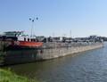 Martens 10 op de Ringvaart Gent bij Evergem.