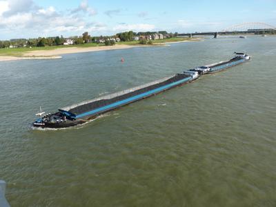 De Twister II met de Twister I Nijmegen.