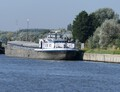 Smeagol op de Ringvaart Gent bij Evergem.