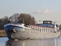De IJsselmond Maximakanaal bij Sluis Empel.