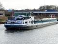 El Viajero op het Maximakanaal bij Den-Bosch.