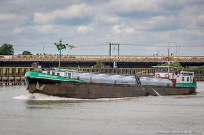 Raamgracht op de IJssel in Zutphen.