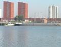 Bianca met de duwboot Kelly Rotterdam.