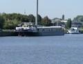 Leendert G op de Ringvaart Gent bij Evergem.