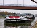 Niedersachsen 12 op het Dortmund-Ems kanal bij Datteln.