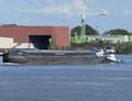 De Susette met de duwboot Sterna Krimpen a/d Lek.