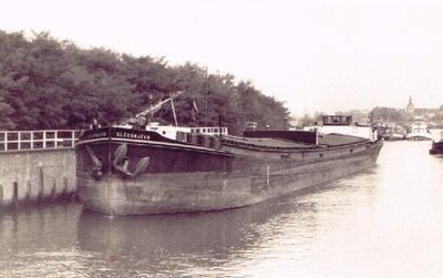 Gleconjean als motorschip in 1953.