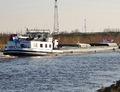 De Borax op het Maximakanaal bij Empel.