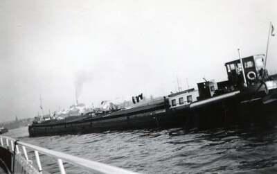 Damco 117 aan de Hombergeroord.