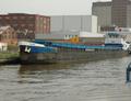 Sharon op het Albertkanaal Antwerpen.