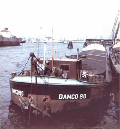 Damco 90 Waalhaven bij Van den Brink.