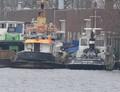 Alcyon bij sloperij Treffers in Haarlem.