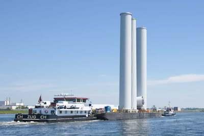 Bo op het Noordzeekanaal.
