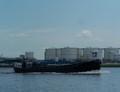 Fix 17 op het Noordzeekanaal ter hoogte van Zaandam.