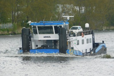 Aries in Amsterdam.