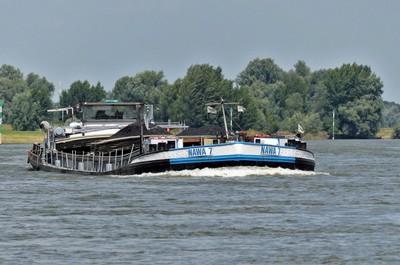 De Nawa 7 op de Rijn bij Xanten
