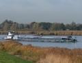 Panta-Rhei met de duwboot Rheine Streefkerk.