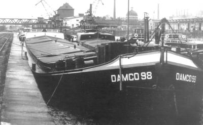 Damco 98 Westhafen Frankfurt.