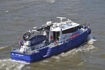 De P5 Nieuwe Maas Rotterdam.