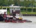 De Tommy op het Amsterdam-Rijnkanaal bij Nieuwegein.