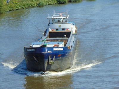 Spaarmuiden op het Amsterdam-Rijnkanaal ter hoogte van de Nesciobrug.