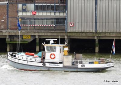 Veerdienst III op de Nieuwe Maas.