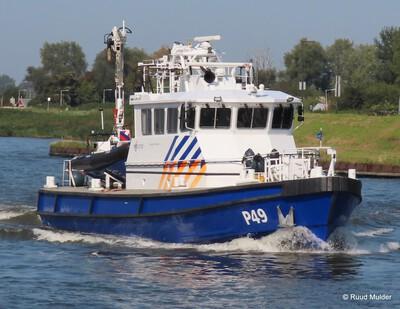 P49 bij de Amsterdamsebrug.