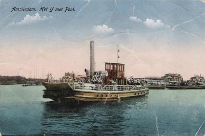 De Stoompont VI Noordzeekanaal.