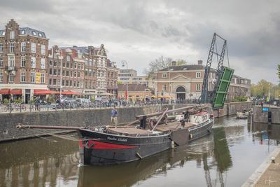 Paulina Elisabeth bij Entrepot dok in Amsterdam.