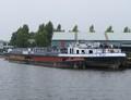 Elly bij sloperij Treffers in Haarlem.