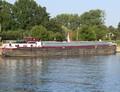 Kemp op het Albertkanaal in Merksem.