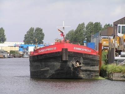 De Zandexpres 12 Industriehaven Haarlem.