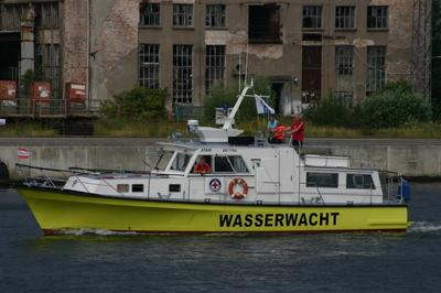 De Atair Wasserwacht Rostock.