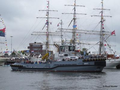 A 871 Noordzee Buitenhaven Den Helder.