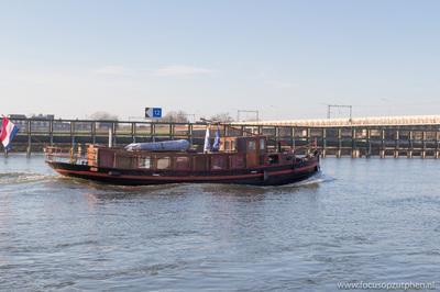 De Johanna op de IJssel in Zutphen.