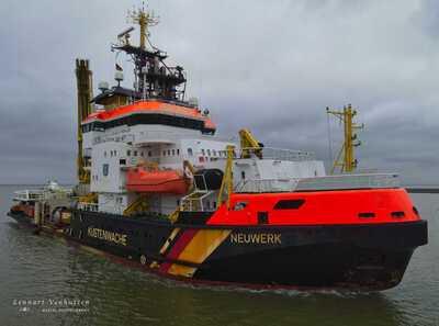 Neuwerk in de Eemshaven in Delfzijl.